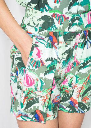 And other stories Tropical Tie Shorts