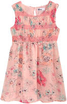 Epic Threads Smocked Floral-Print Dress, Toddler Girls, Created for Macy's