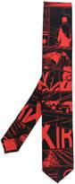Prada graphic printed tie