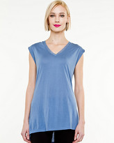 Le Château Knit V-Neck Sleeveless Top