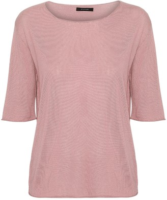 Oh Simple - Blush Silk Cashmere Knit - s