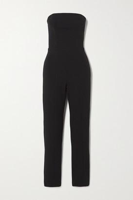 Marika Vera Jessica Strapless Stretch-crepe Jumpsuit - Black