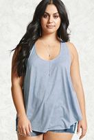 Forever 21 Plus Size Faux Suede Tank Top