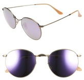 Ray-Ban Women's Icons 53Mm Retro Sunglasses - Brown/ Pink