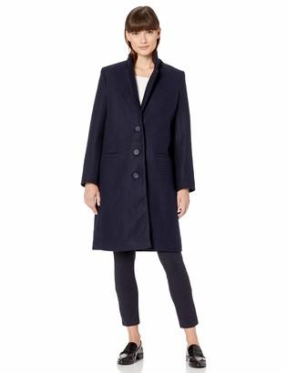Amazon Essentials Plh Button-front Coat Wool Blend