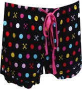 Paul Frank Skurvy Mini Polka Ruffle Sleep Short for women