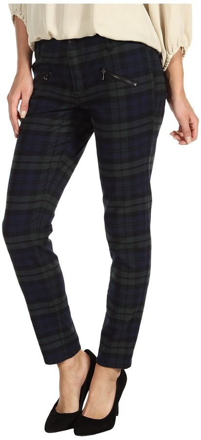 Joe's Jeans Rockster Skinny Ankle in Forest School Plaid (Forest School Plaid) - Apparel