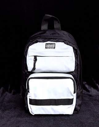 Vans Space Cadet Bag in reflective black