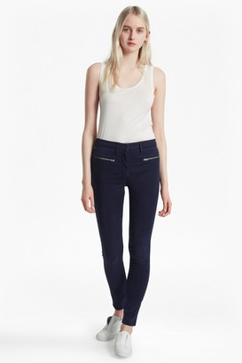 French Connection Sateen Zip Skinny Jeans