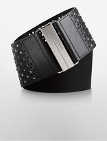 Calvin Klein Studded Wide Waist Belt