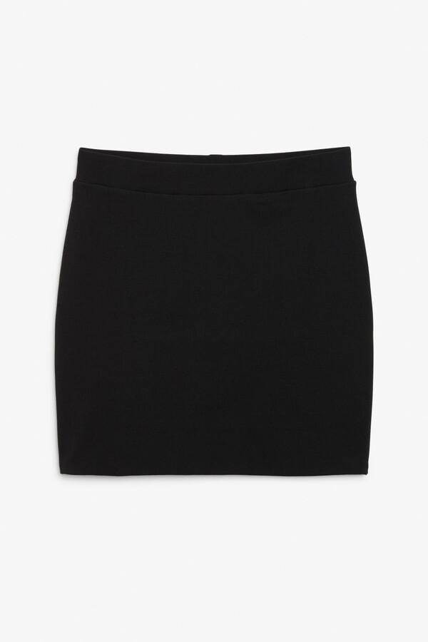 Monki Stretch mini skirt