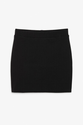 Monki Stretch mini skirt