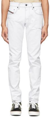 Diesel White D-Strukt Jeans