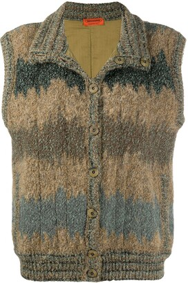 Missoni Pre-Owned 1970s Buttoned Gilet