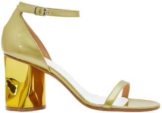 Maison Margiela Gold-heeled sandals