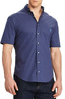 Polo Ralph Lauren Big & Tall Poplin Short-Sleeve Woven Shirt