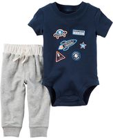 Carter's Baby Boy Space Bodysuit & Pants Set