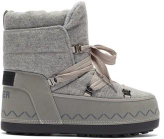 Bogner Trois Vallees Felt Snow Boots - Light Grey
