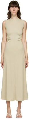 CHRISTOPHER ESBER Beige Orbit Fran Dress