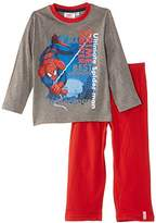 Marvel Boys' Spiderman Crime Fighter Long Sleeve Pyjama Set