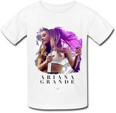 ZYX 6-16 years old ZYX Rock Pop Singer Ariana Grande T Shirt For Kids Big Boys' And Big Girls' M
