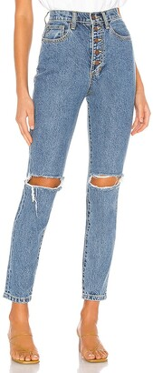 WeWoreWhat The Danielle High Rise Straight. - size 24 (also