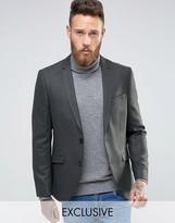 Heart & Dagger Skinny Blazer In Tweed
