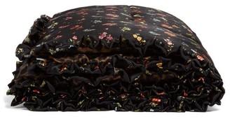 Preen by Thornton Bregazzi Floral-print Silk Eiderdown - Black Multi