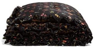 Preen by Thornton Bregazzi Floral-print Silk Eiderdown - Womens - Black Multi