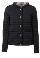 Herno Women's Brown/black Polyamide Down Jacket.