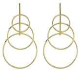 Argentovivo Triple Circle Drop Earrings