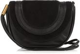 Diane von Furstenberg Mini Bullseye leather messenger cross-body bag