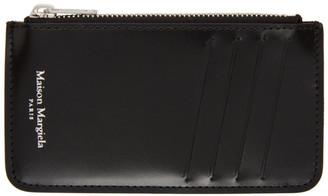 Maison Margiela Black Zippered Card Holder