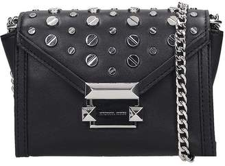 Michael Kors Shoulder Bag In Black Leather