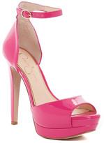 Jessica Simpson Sylvian Open Toe Platform Sandal