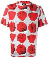 Paul Smith rose print T-shirt
