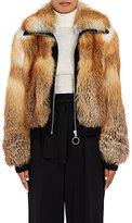 A.L.C. Women's Boyce Red Fox Fur Coat-BROWN