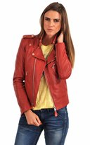 Zoha Collection Women's Lambskin Leather Jacket Bomber Biker Motorcycles Jacket- S