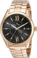 Lucien Piccard Men's LP-12841-RG-11 Orion Analog Display Japanese Quartz Rose Gold Watch