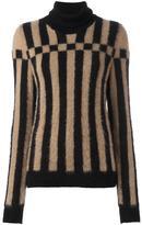Loewe striped turtleneck jumper