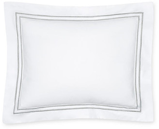 Sferra Grande Hotel Boudoir Sham - White/Silver