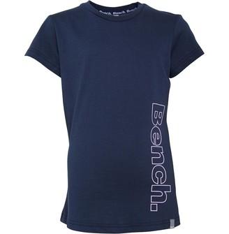 Bench Junior Girls Effie T-Shirt Navy