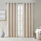 Sunsmart SunSmart Lavine Branch Jacquard Total Blackout Window Curtain
