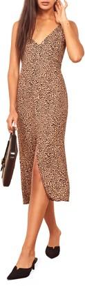 Reformation Bates Sleeveless Midi Dress