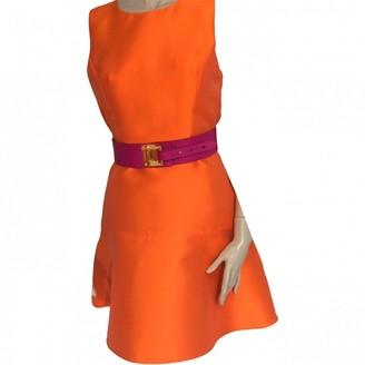 Tara Jarmon Orange Polyester Dresses