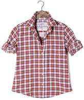 Frank And Eileen Womens Barry Plaid Button Down Shirt