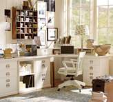 Pottery Barn Corner Desktop