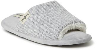 Dearfoams Lane Knit Slide Slipper