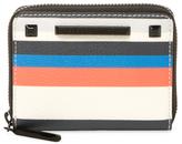 Rebecca Minkoff Ava Mini Stripe Zip Around Wallet