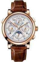 A. Lange & Söhne A. Lange and Sohne Rattrapante 1815 18K Rose Gold / Leather Chronograph 41.9mm Mens Watch